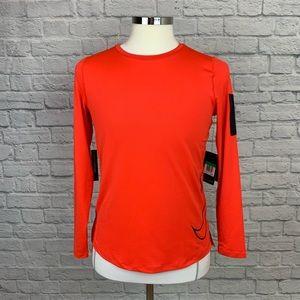 Boy's Nike Pro LS Dri-Fit Shirt